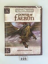 DUNGEONS & DRAGONS FORGOTTEN REALMS POWER OF FAERUN CAMPAIGN HARDBACK