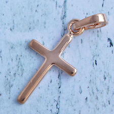 fashion jewelry gold filled womens cross pendant free shipping A807