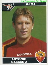 406 ANTONIO CASSANO ITALIA AS.ROMA STICKER CALCIATORI 2005 PANINI