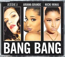 JESSIE J Ariana Grande NICKI MINAJ Bang Bang 2-Track CD SINGLE with Solo Version