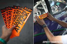 SPEEDHUNTERS Co1 #MAXIMUMATTACK STICKER SUPER RARE - OFFICIAL MERCHANDISE