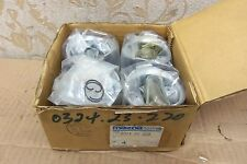 4 NOS OEM MAZDA FAMILIA 1300 SEDAN 1969-72 PISTON SET 73.0mm +0.50 # 0324-23-220