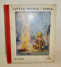 "Rare ""Little People of India"" by Cecil Elgee, 1926, Bombay children's book"