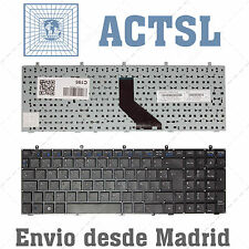 Keyboard Spanish for Clevo w370et Black
