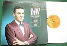 Jim Edward Brown Alone With You US Issue LP