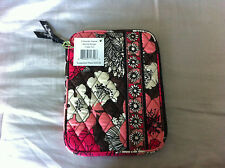 Vera Bradley Mocha Rouge E-Reader Sleeve E Reader case Fits Ipad Mini NWT