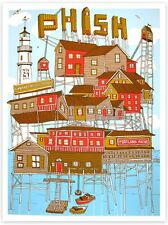 Phish 2009 Portland Maine Rare Signed Nate Duval Numbered Silkscreen Poster!!