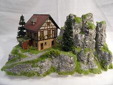 Modelismo de planta Potsdam diorama h0 modelo bosque casa
