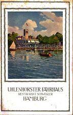 Uhlenhorster Fährhaus Restaurant Schwegler Hamburg Konzert Programm 1934