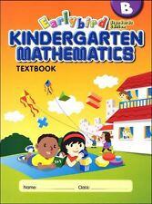 Earlybird Kindergarten Math  Textbook B (Standard Edition) - FREE SHIPPING ! ! !