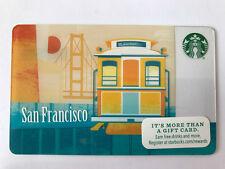 STARBUCKS Gift Card / Geschenkkarte 'Cabel Car - San Francisco' USA 2014 - NEW