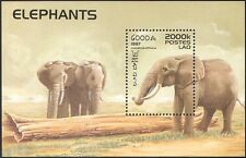 Laos 1997 African Elephants/Wildlife/Animals/nature/Conservation 1v m/s (b5191)