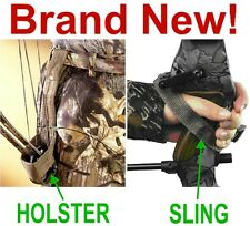 NEW BOW HUNTING BELT HOLSTER & HAND SLING PROTECTOR,ARCHERY ARROW SHOOTERS