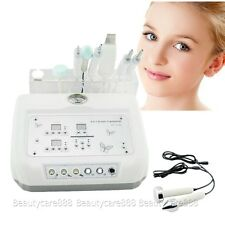 Women 4In1 Microcurrent Diamond Micro Dermabrasion Ultrasound Skin Scrubber New