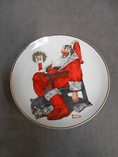 """Norman Rockwell Christmas Xmas """"The Day After Christmas"""" Special Edition Plate"""