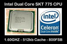 Intel slaqw Socket LGA 775 Processore Dual-Core 1.60ghz/800fsb/512kb di cache