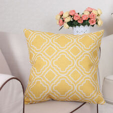 Cabana Yellow Geometric Ethnic Boho Bohemian Accent Decorative Throw Pillow