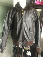 G-1 Barely Worn Pharr DSCP Leather Flight Jacket USMC Marines USN Sz 48 XL Nice