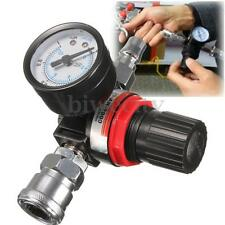 "1/4"" Air Pressure Regulator Gauge Regulating Valve Compressor For Spray Gun"