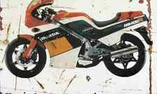 Honda NS400R 1985 Aged Vintage SIGN A3 LARGE Retro