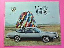 1977  PLYMOUTH VOLARE SHOWROOM SALE BROCHURE ..20- PAGES