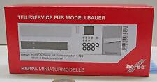 Herpa 084512Remolque de camión refrigerado mit Caja de plataforma contenido: