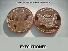 2015 - The Executioner - 1 oz .999 Copper BU Round - LIMITED USA BULLION COIN