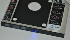 2nd Disco Rigido SSD Caddy HDD per Dell Inspiron 17 5758 7737 i7 i5 SU-208CB DVD