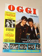 OGGI=1978/25=MONDIALE ARGENTINA=INGRID NORDH=KESSLER TOPLESS=LIBANO FEDAYN=