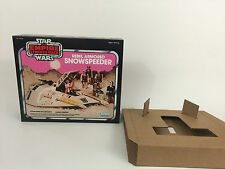 replacement vintage star wars empire strikes back snowspeeder pink box + inserts