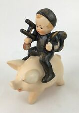 GOEBEL-AUTHENTIC HUMMEL  A BOY AND HIS POT BELLY PIG B17