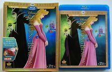 DISNEY SLEEPING BEAUTY BLU RAY DVD TARGET EXCLUSIVE 32 PAGE READ ALONG STORYBOOK