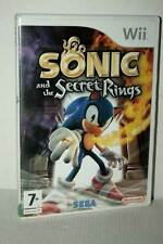 SONIC AND THE SECRET RINGS USATO NINTENDO Wii EDIZIONE INGLESE PAL VBC 49158