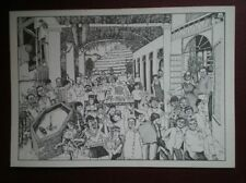 POSTCARD WILLIAM RUSHTON - AT TAYLOR'S QUINTA DE VARGELLAS 1985 VINTAGE -