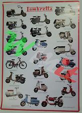 Carteles Lambretta Tamaños 97.8 cm X 67.9 cm