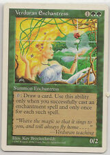 MTG - 5th ed - Verduran Enchantress - Rare Card