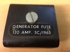 vintage fuse box 5c 1963 raf aircraft generator fuse box