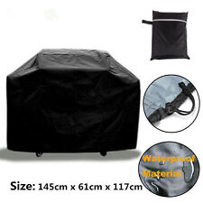 BBQ Cover Waterproof Garden Patio Gas Grill Rain Dust Barbecue Protection 145CM