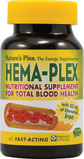 Hema-Plex, Nature's Plus, 90 softgels