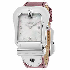 Fendi Women's F380014571D1 B. Fendi Mother of Pearl Dial Swiss Quartz Watch