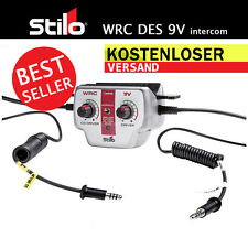 STILO WRC DES  Intercom 9V Gegensprechanlage Beste Sprachqualität  Filter
