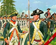 AMERICAN REVOLUTION US SOLDIERS PAINTING MILITARY HISTORY WAR ART CANVAS PRINT