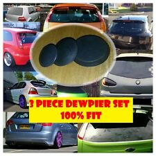 3 Piece rear wiper delete Dewiper Set bung grommet 100% fit