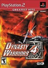 Dynasty Warriors 4 [Greatest Hits]  (Sony PlayStation 2, 2004)