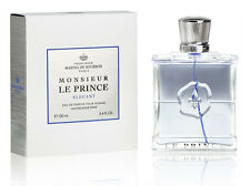 MARINA DE BOURBON-MONSIEUR LE PRINCE ELEGANT-MEN -EDP-SPRAY-3.4 OZ-100 ML-FRANCE