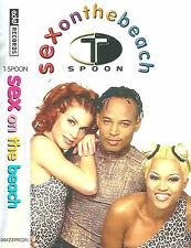 T-Spoon ‎Sex On The Beach CASSETTE SINGLE Electronic Pop Euro House Europop 1998