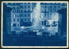 Roma Città Piazza di Spagna Barcaccia Auto FG cartolina VK2291