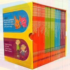 Read it Yourself Ladybird 50 Book Box Set Collection Level 1,2,3,4 Brand New Fre
