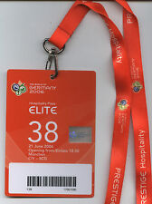 Orig.VIP Ticket   World Cup Germany 2006  COTE D`I. - SERBIA/MONTENEGRO  / ELITE