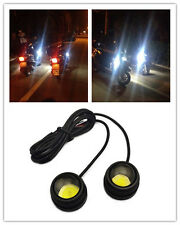 2X High Power COB LED Eagle Eye Motorcycle Under body Lamp Fog Light For Yamaha